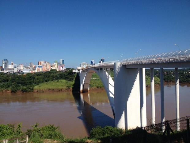 Revitalização da Ponte da Amizade chega na etapa final
