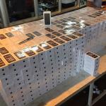1,2 mil iPhones contrabandeados são apreendidos no Paraná