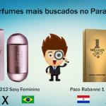 Março – TOP 5 perfumes no Paraguai