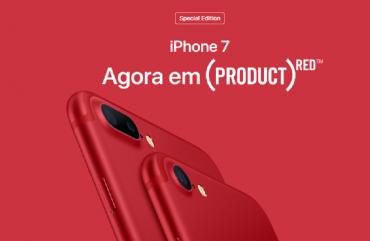 iPhone 7 vermelho está quase R$ 850 mais barato no Paraguai