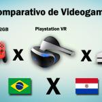 Videogames: comparativo de preços entre Paraguai e Brasil