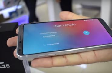 LG G6: quando custa no Paraguai?