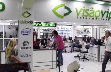 Conheça a loja Visão Vip Informática no Paraguai