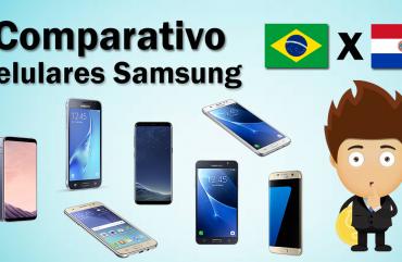 Comparando preços – Celulares Samsung