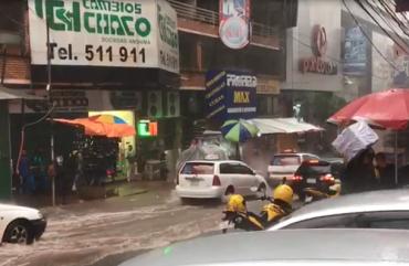Temporal volta a causar prejuízos em Ciudad del Este