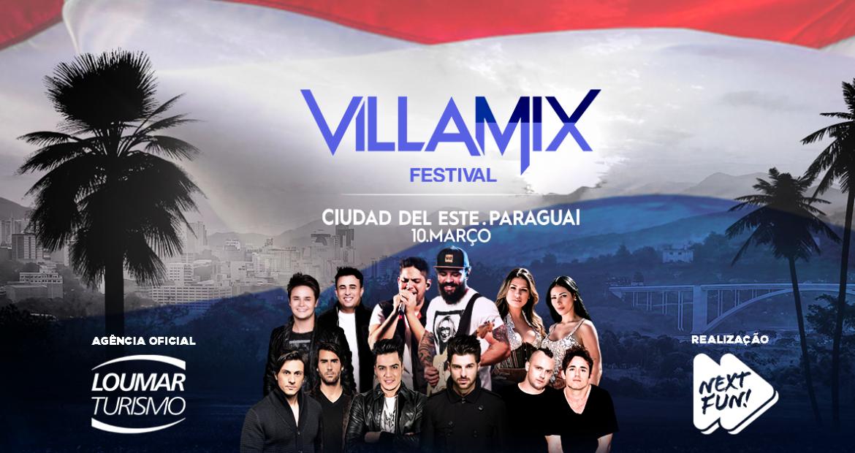 Festival Villa Mix em Ciudad del Este