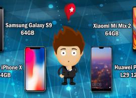 Comparando os preços dos celulares Tops do mercado