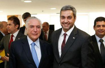 Presidente eleito do Paraguai debate construção de mais pontes em conjunto com Brasil