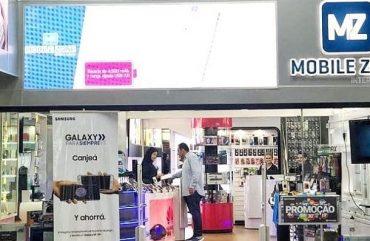 Loja Mobile Zone: celular usado garante descontos