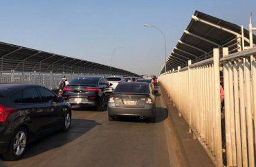 Veículos leves tem prioridade por duas horas na Ponte da Amizade