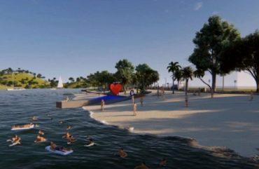 Praia em Ciudad del Este?
