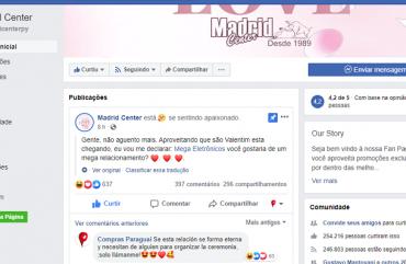 Interação de lojas de Ciudad del Este 'viraliza' nas redes sociais