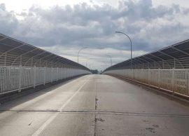 Ponte da Amizade ficará fechada até o final de maio
